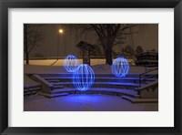 Framed Spheres On The Steps