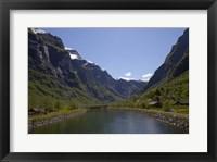 Framed Flam Fjord