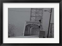 Framed Livingston Avenue Bridge 1