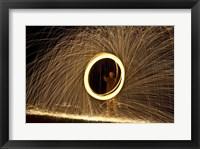 Framed Portal Of Fire