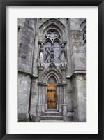Framed Church Door