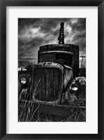 Framed Dead Truck