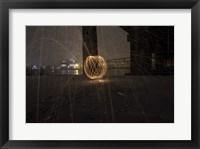 Framed Explosion Of Sparks