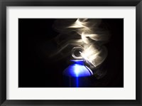 Framed Flaming Bottle 1