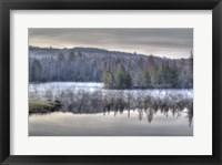 Framed Fog On The Water