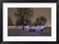 Framed Light In The Park