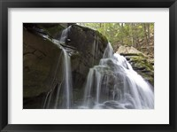 Framed Silked Falls