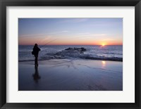Framed Early Morning Fishing