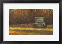Framed Dad's Truck