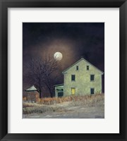 Framed Oak Moon