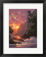 Framed Summer Embers