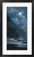 Framed Black Sand Magic