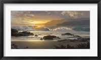 Framed Golden Surge