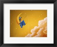 Framed Blue Moon