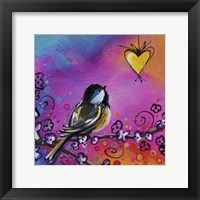 Framed Song Bird I