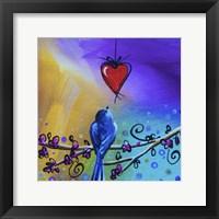 Framed Song Bird VI