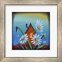 Framed Bashful House II
