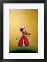 Framed Flower Girl