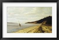 Framed Afternoon Sailing c. 1890