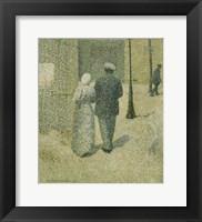 Framed Couple In The Street, 1887
