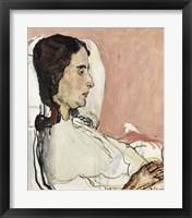 Framed Madame Gode-Darel Sick, 1873-1915