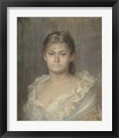 Framed Portrait Of The Comtesse Dina De Toulouse-Lautrec, 1883