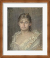 Framed Portrait Of The Comtesse Dina De Toulouse-Lautrec, 1883