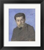 Framed Portrait Of The Writer Joris-Karl Huysmans (1848-1907)