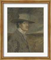 Framed Portrait Of The Artist, 1906
