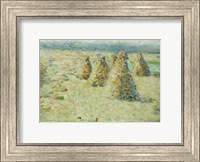 Framed Haystacks In Normandy, 1887-89