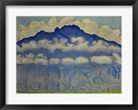 Framed Landscape In The Berne Oberland (Die Schynige Platte), 1909
