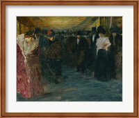 Framed Promenoir At The Music-Hall, c. 1890