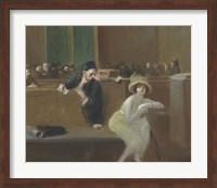 Framed Tribunal Scene