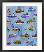 Framed Tugboats