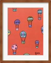 Framed Balloons - Red