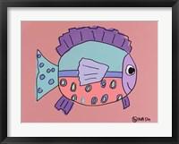Spot The Fish Framed Print