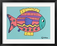 Framed Pink Fish