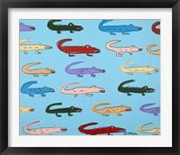 Framed Gators