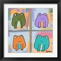 Framed Frogs