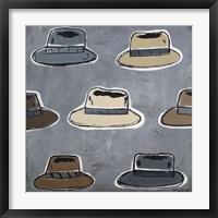 Framed Hats Off