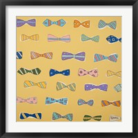 Framed Bowties Yellow