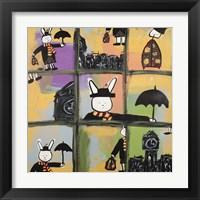 Framed Lala Poppins Grid