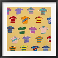 Framed Polo Shirts - Yellow