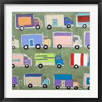 Keep on Trucking Framed Print