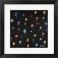 Framed Little Birds - Black
