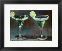 Framed Two Margarita