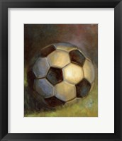 Framed Soccer Ball