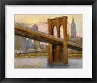 Framed Brooklyn Bridge 4