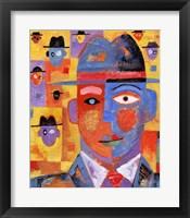 Framed Hat Men