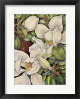 Framed Georgia Magnolias